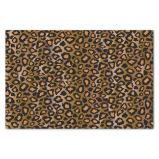 Papel De Seda Teste padrão animal do impressão do leopardo