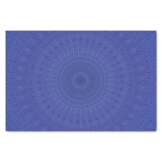 Papel De Seda Teste padrão azul abstrato