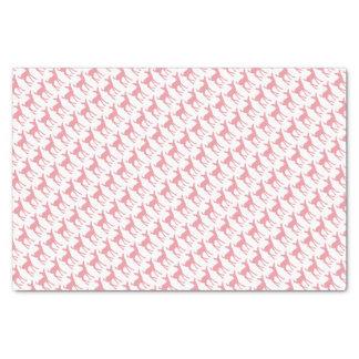 Papel De Seda Teste padrão cor-de-rosa dos cervos
