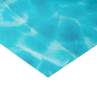 Papel De Seda Teste padrão da pedra de gema, Larimar azul/pedra