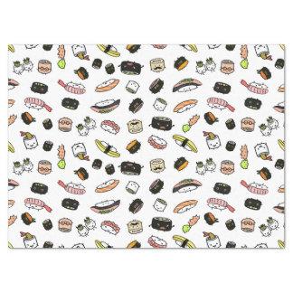 Papel De Seda Teste padrão dos caráteres do sushi