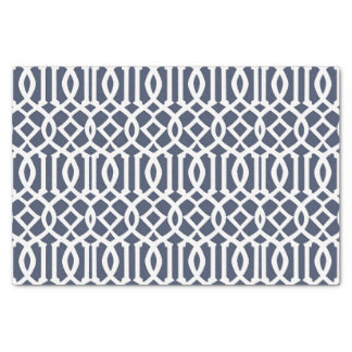 Papel De Seda Teste padrão geométrico da treliça imperial dos