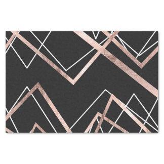 Papel De Seda Teste padrão linear do abstrato do triângulo do