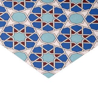 Papel De Seda Teste padrão marroquino geométrico islâmico no