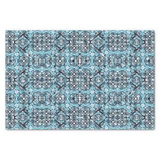 Papel De Seda Teste padrão ornamentado oriental luxuoso
