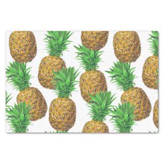 Papel De Seda Teste padrão sem emenda com abacaxis