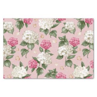 Papel De Seda Teste padrão sem emenda floral do Hydrangea