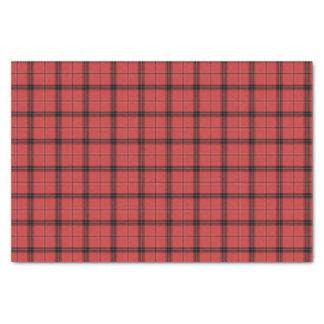 Papel De Seda Teste padrão vermelho do feriado do Natal do