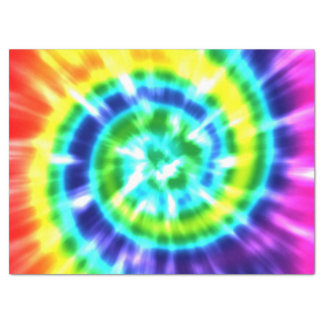 Papel De Seda Tintura retro Boho colorido do laço da paz do