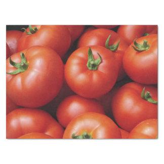 Papel De Seda Tomates maduros - vermelho brilhante, fresco