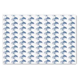Papel De Seda Um golfinho