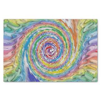 Papel De Seda Um Splatter colorido