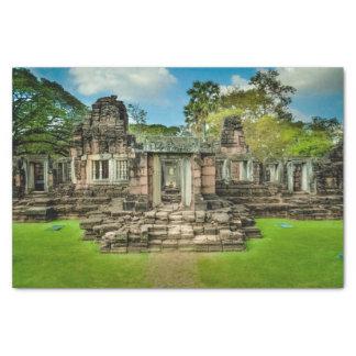 Papel De Seda UNESCO de Cambodia do templo de Angkor Wat