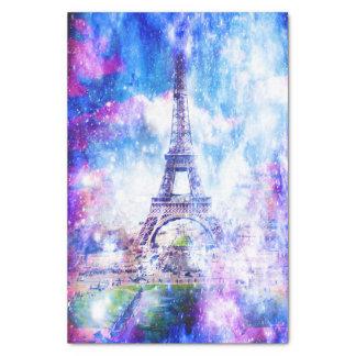 Papel De Seda Universo Paris do arco-íris