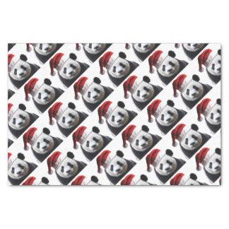 Papel De Seda Urso de panda do Natal