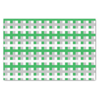 Papel De Seda Verde abstrato, prata e branco