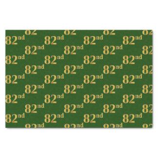 Papel De Seda Verde, evento do ouro 82nd do falso