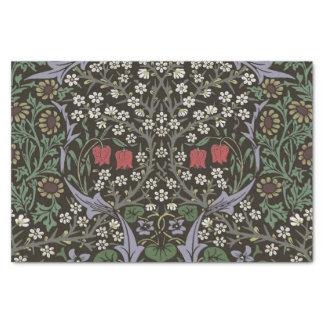 Papel De Seda Vintage da tapeçaria da ameixoeira-brava de