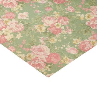 Papel De Seda Vintage floral