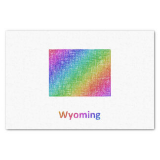 Papel De Seda Wyoming