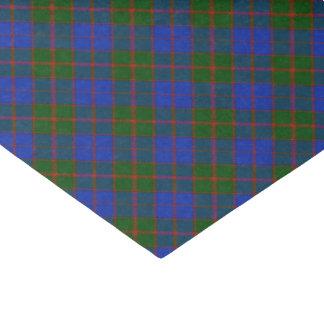 Papel De Seda Xadrez de Tartan escocesa clássica do clã modelada