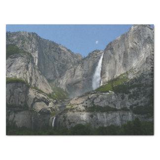 Papel De Seda Yosemite Falls III do parque nacional de Yosemite