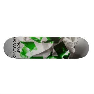 Papel de sucata, SCRAPMCFARLAND Shape De Skate 19,7cm