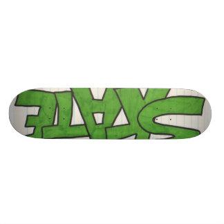 Papel de sucata shape de skate 18,7cm