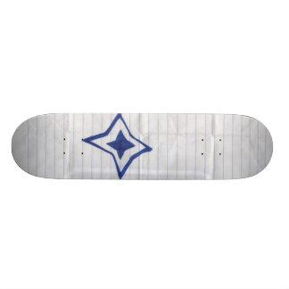 Papel de sucata shape de skate 21,6cm