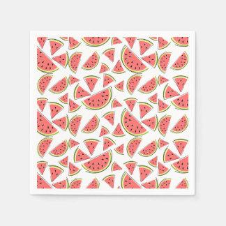 Papel dos guardanapo da melancia multi
