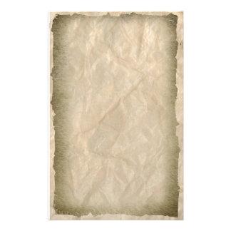 Papel enrugado da dobra papelaria