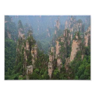 Papel nacional da foto de Zhangjiajie Forest Park