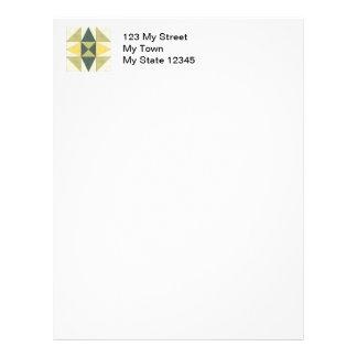 Papel para cartas ocidental da edredão da estrela papel de carta personalizados
