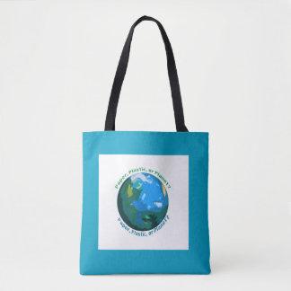 Papel, plástico, ou planeta? O bolsa do mercado