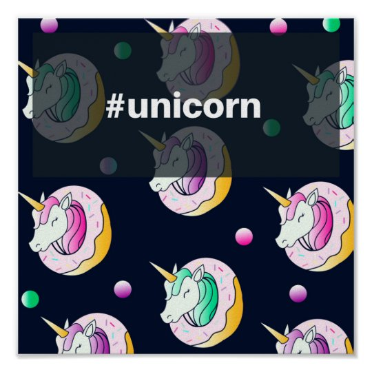 Papel Poster Especial (Fosco) #Unicorn