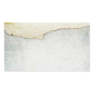 papel rasgado no azul do fundo da parede cartão de visita