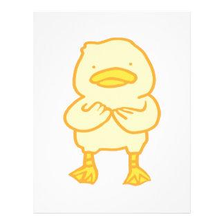 """Papel Timbrado 8,5"""" ducky x 11"""" cabeçalho"""