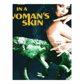 Papel Timbrado A Lizard in a Woman's Skin, vintage horror movie