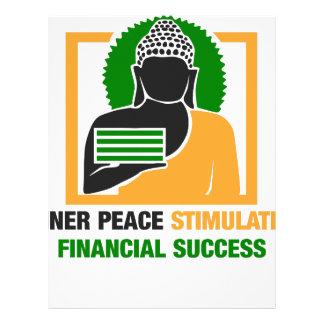 Papel Timbrado A paz interna estimula o sucesso financeiro