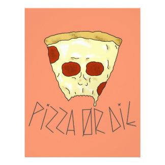 Papel Timbrado A pizza ou morre