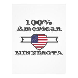 Papel Timbrado Americano de 100%, Minnesota