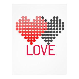 Papel Timbrado amor