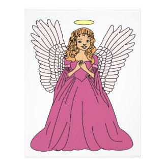 Papel Timbrado Anjo 3