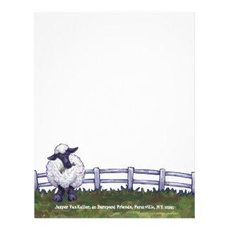 Papel Timbrado Artigos de papelaria dos carneiros