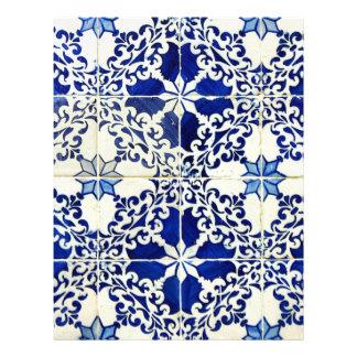 Papel Timbrado Azulejos, Portuguese Tiles