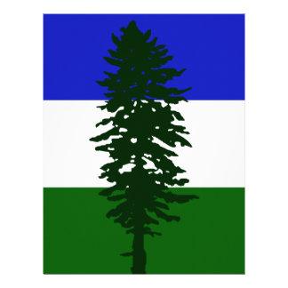 Papel Timbrado Bandeira de Cascadia