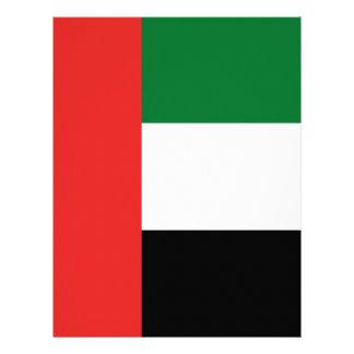 Papel Timbrado Bandeira de Emiradosarabes