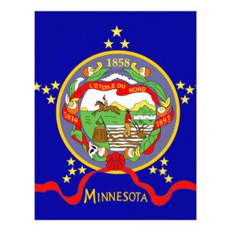 Papel Timbrado Bandeira de Minnesota