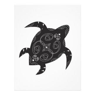 Papel Timbrado Barriga da tartaruga de mar