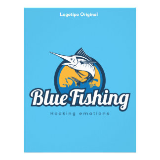 Papel Timbrado Blue Fishing Products
